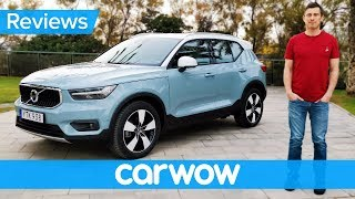 New Volvo XC40 2018 review - has Volvo finally become cool? | carwow Reviews