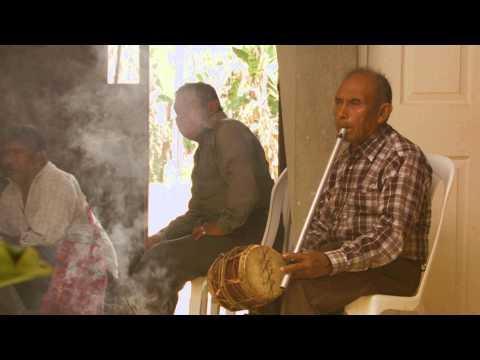 Alberto Burrero, abuelo músico de Rabinal Baja Verapaz