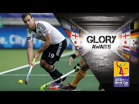 Germany vs South Africa - Men's Rabobank Hockey World Cup 2014 Hague Pool B [01/6/2014]