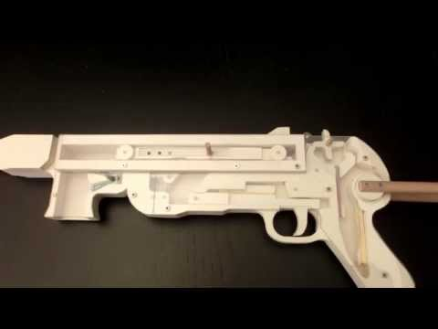 MP40 Rubberband Gun insight view
