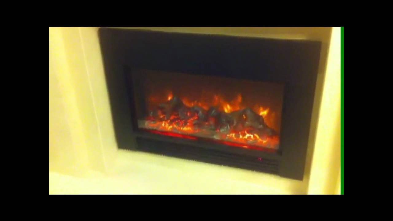 Replace Your Wood Burning Fireplace By A Electric Fireplace Insert YouTube