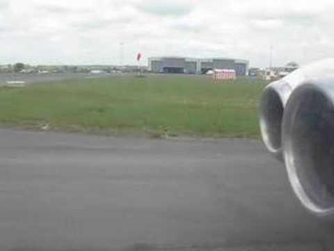 RE3912 19MAY08 WAT-GWY BAe 146 G-TBIC landing RWY26 at GWY