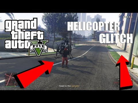 GTA 5 1.40 - *NEW HELICOPTER METHOD* For The Pacific Standard Heist Glitch (GTA V Money Glitch)