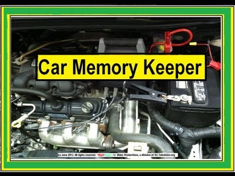 Car Memory Keeper.  How to change car batteries without losing Radio memory.