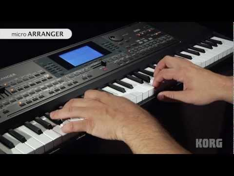 Korg microARRANGER Official Product Introduction