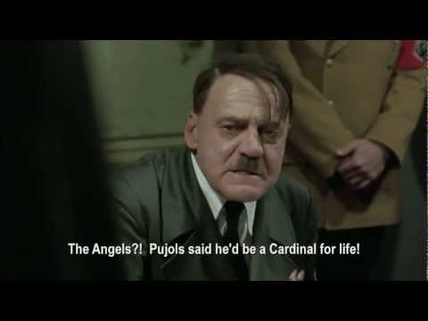 Hitler Reacts to Pujols Leaving the Cardinals