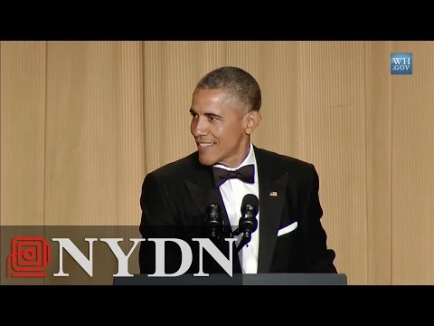 Highlights from Obama speech at White House Correspondents Dinner