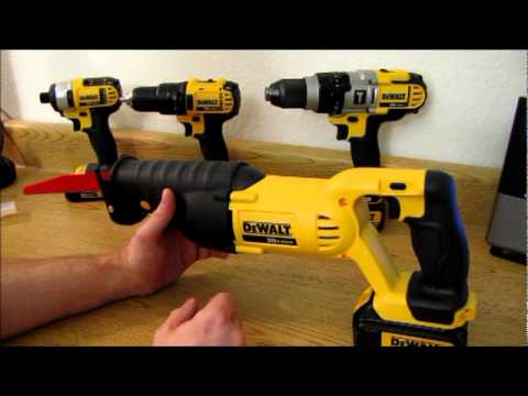 DeWalt 20V MAX Reciprocating Saw (Desktop Review)