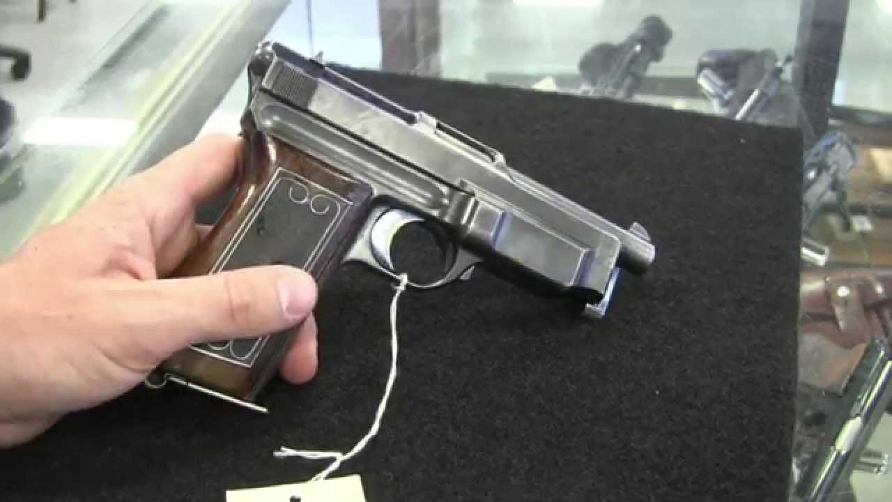 Mauser 1912 14 Automatic Pistol Youtube
