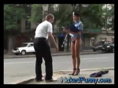 hidden camera sexy policewoman 2012