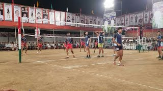Rohit rana vs Rahul hudda best volleyball match  2018
