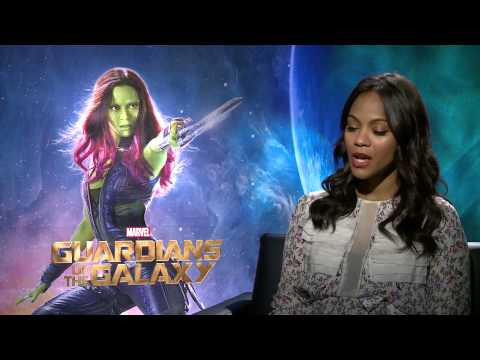Zoe Saldana on making Gamora beautiful in 'Guardians of the Galaxy'