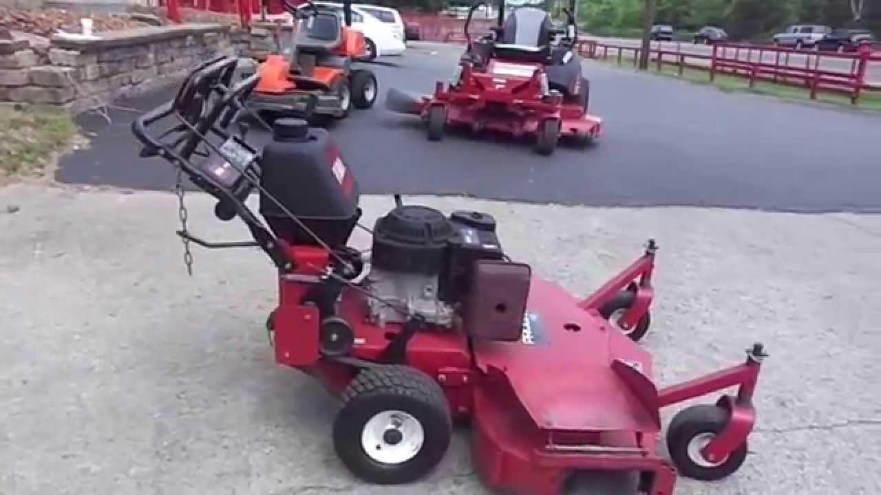48 Quot Toro Proline Walk Behind Lawn Mower With 15 Hp Kohler