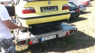 BMW e36 M3 exhaust sound
