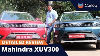 Mahindra XUV300 road test review in detail