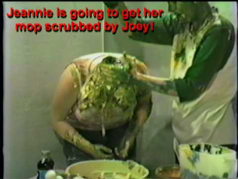 Jeannie & Joey Gooey Food Fight Part 1