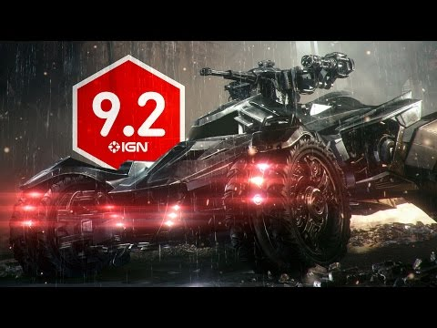 Batman: Arkham Knight Review Discussion 2 - The Controversial Batmobile