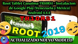 Root Tablet Canaima TR10RS1/TR10CS1 NUEVO 1, Google Play Store, SuperSU, Gmail, Solucion Error OEM