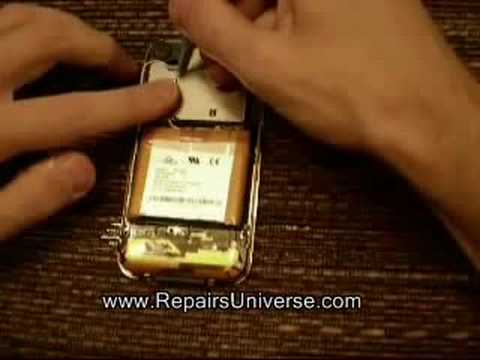 iPhone Battery How To Remove and Replace Video