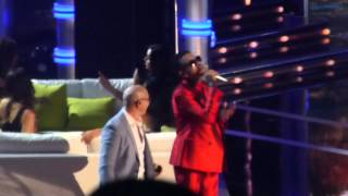 Chris Brown and Pittbull live at the Billboard Music Awards MGM Grand Las Vegas May 2015 BBMAS