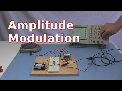 Amplitude Modulation with Simple AM Radio Transmitter
