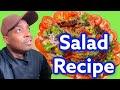 Summer Breeze Salad Weight Loss Salad! Chef Ricardo Cooking #Salad #JamaicanChef