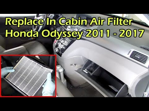 How To Install Replace Cabin Air Filter Honda CR-V 02-06 ...