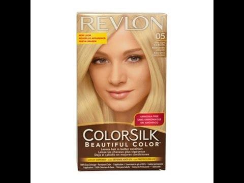 Revlon ColorSilk 05 Hair Dye Review YouTube
