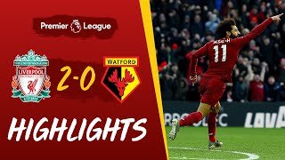 Liverpool 2-0 Watford | Salah's sensational double sees off Watford | Highlights