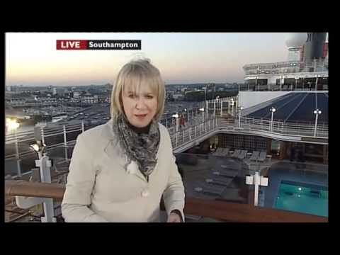 Queen Elizabeth Ship launched (Oct, 2010)