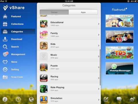 The 2 Best Installous Alternatives 6.1 - vShare.  AppCake 2013