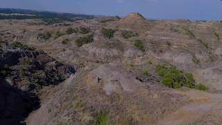 Eastern Montana Badlands Drone Footage