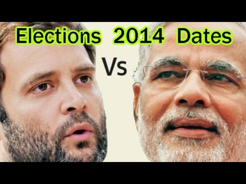 Lok Sabha elections 2014 Dates announced by Election Commission of India
