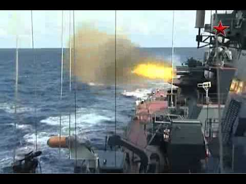Петр Великий атомный ракетный крейсер