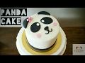 Panda Cake - bolo de pasta americana