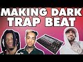MAKING A DARK TRAP TYPE BEAT HOW TO BE SPOOKY WITH SAMPLES FL STUDIO mp3