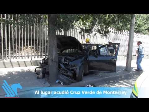 Dos lesionados en choque estrellamiento en San Nicolás