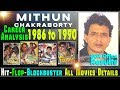 Mithun Chakraborty Box Office Collection Analysis 1986-1990 Part 02 Hit, Flop and Blockbuster Movies