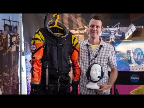 World Maker Faire 2013: Designing Spacesuits for NASA