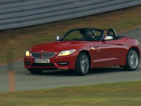 New BMW Z4 sDrive35is 2010 Driving Video