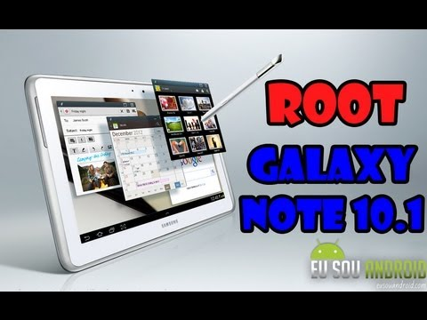 Tutorial - Como fazer Root no Galaxy Note 10.1