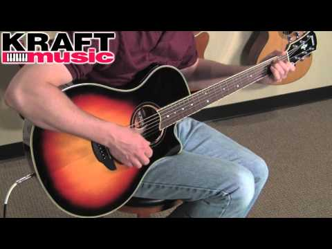 Kraft Music - Yamaha APX700II Acoustic-Electric Guitar