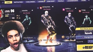 4 HALLOWEEN SKINS TAKEOVER FORTNITE AND WIN 😳 30+ KILL SQUAD GAME