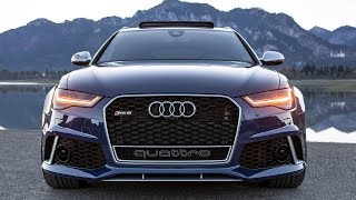 LAST DRIVE in a FUTURE LEGEND - 612hp 2018 AUDI RS6 PERFORMANCE AKRAPOVIC - Climbing the Alps!