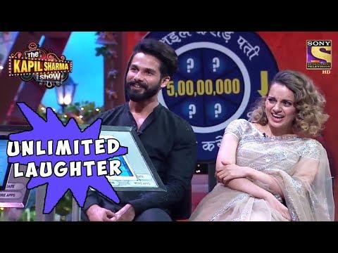 Shahid & Kangana Laugh Endlessly - The Kapil Sharma Show thumbnail