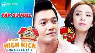Gia đình là số 1 sitcom | tập 23 full: Thu Trang bị em chồng Quang Tuấn khiêu chiến