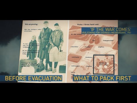 WW3 alarm?! Sweden reissues 1940s survival guide
