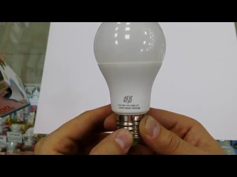 Ремонт светодиодных ламп asd своими руками