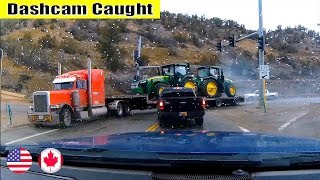 Ultimate North American Cars Driving Fails Compilation - 219 [Dash Cam Caught Video]
