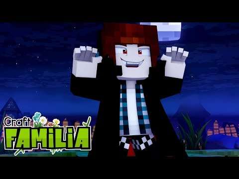 Minecraft Familia #03 - O AUTHENTIC VIROU UM VAMPIRO !!